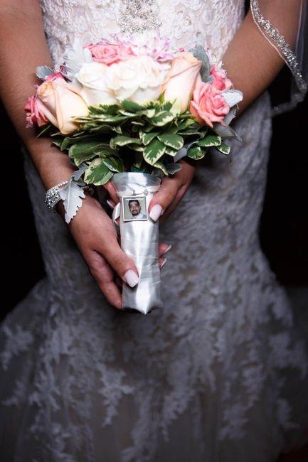 Bouquet charm.