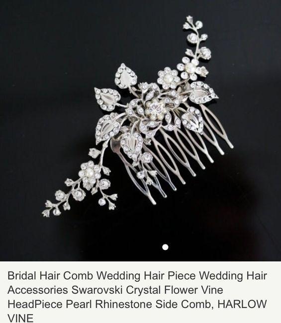 Show Me Your: Wedding Head/Hair Jewelry!!