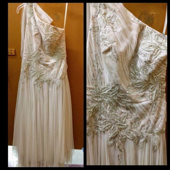 Wedding Gown Found At Goodwill Weddings Wedding Attire Wedding