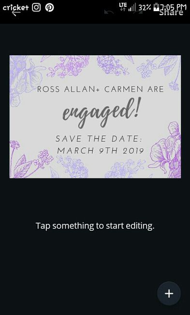 Thoughts on digital Save The Dates? 2