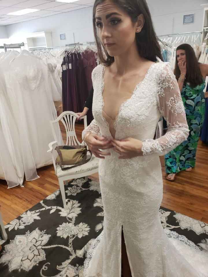 What Dresses Did You Try, And Not End Up Buying?? - 3