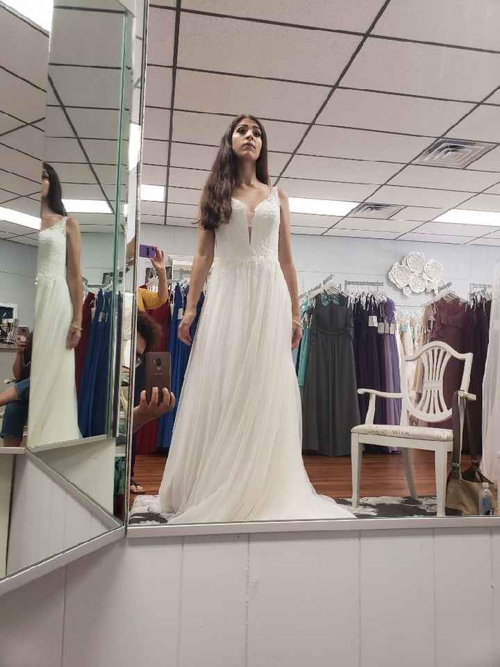 What Dresses Did You Try, And Not End Up Buying?? - 8