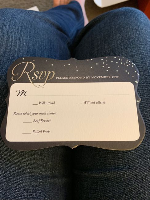 Where did you get your wedding invitations? 4