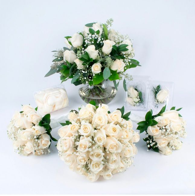 Bridal Bouquet: Color or White? 8