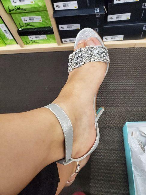 i got my shoes! 2