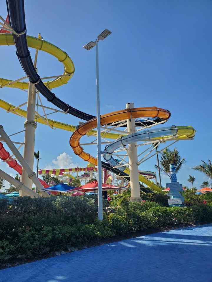 Waterpark on Coco Cay