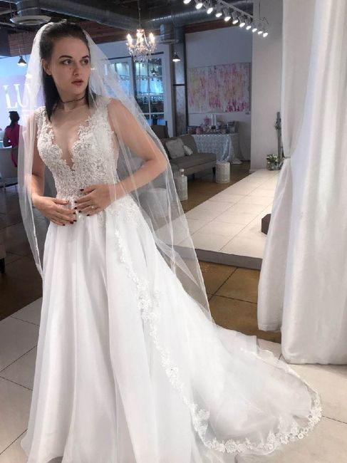 What color is your wedding dress? 13