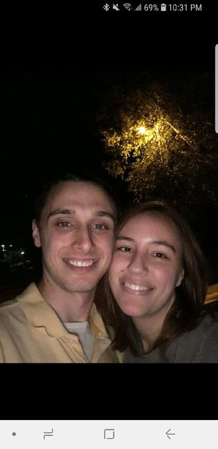 Post your first selfie as a couple! 9