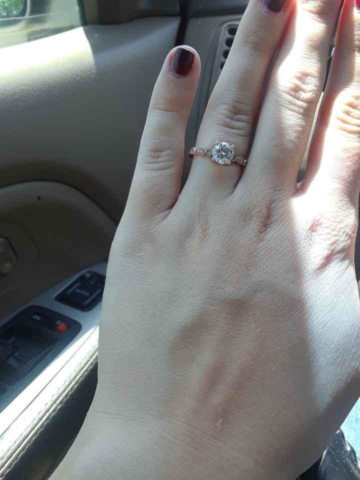 Non diamond rings :) - 2