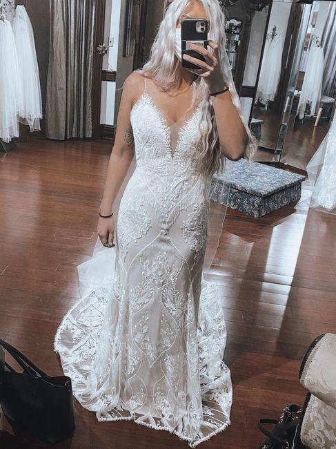 Can't Decide Between 2 Dresses... help! 1