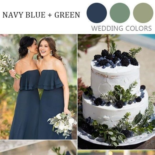 What colors did you choose for your wedding? 6
