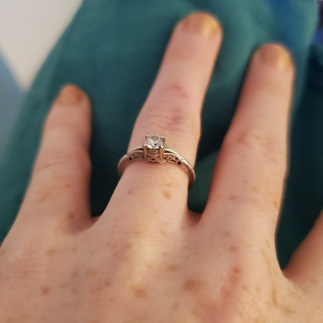Anyone's ring an antique/estate sale/vintage? 7