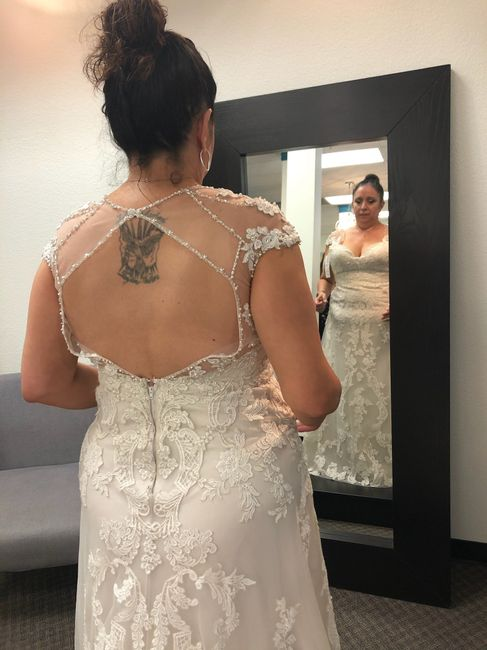 Other gowns i tried on! 11