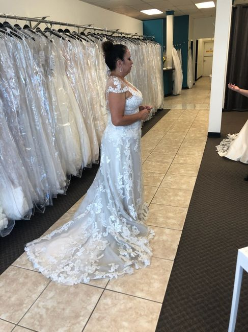 Other gowns i tried on! 12