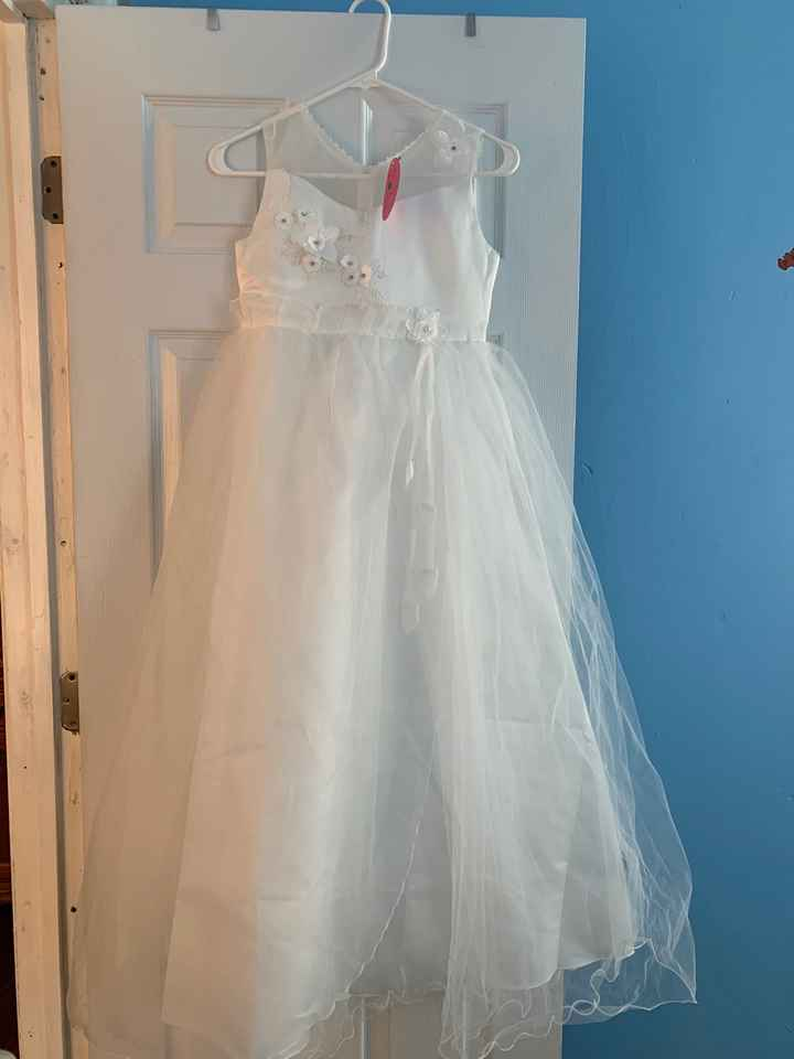 Flower girl basket/dress color - 2
