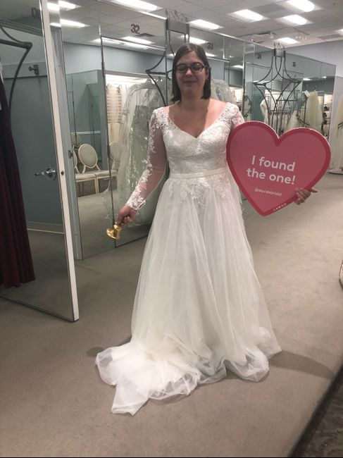 Said Yes to The Dress! 5