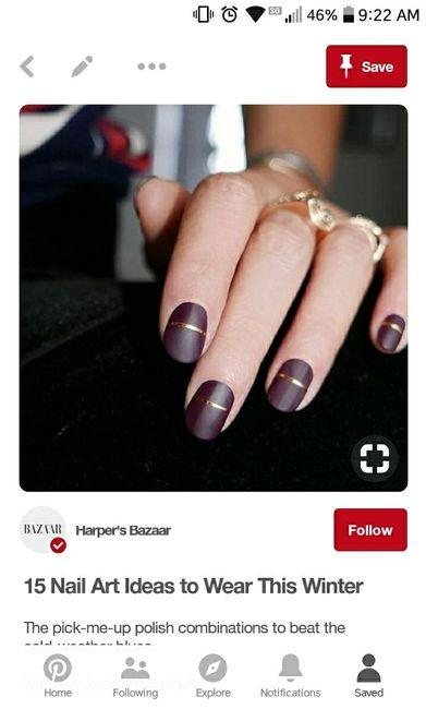 Wedding Nails: Bold or Subtle? 5