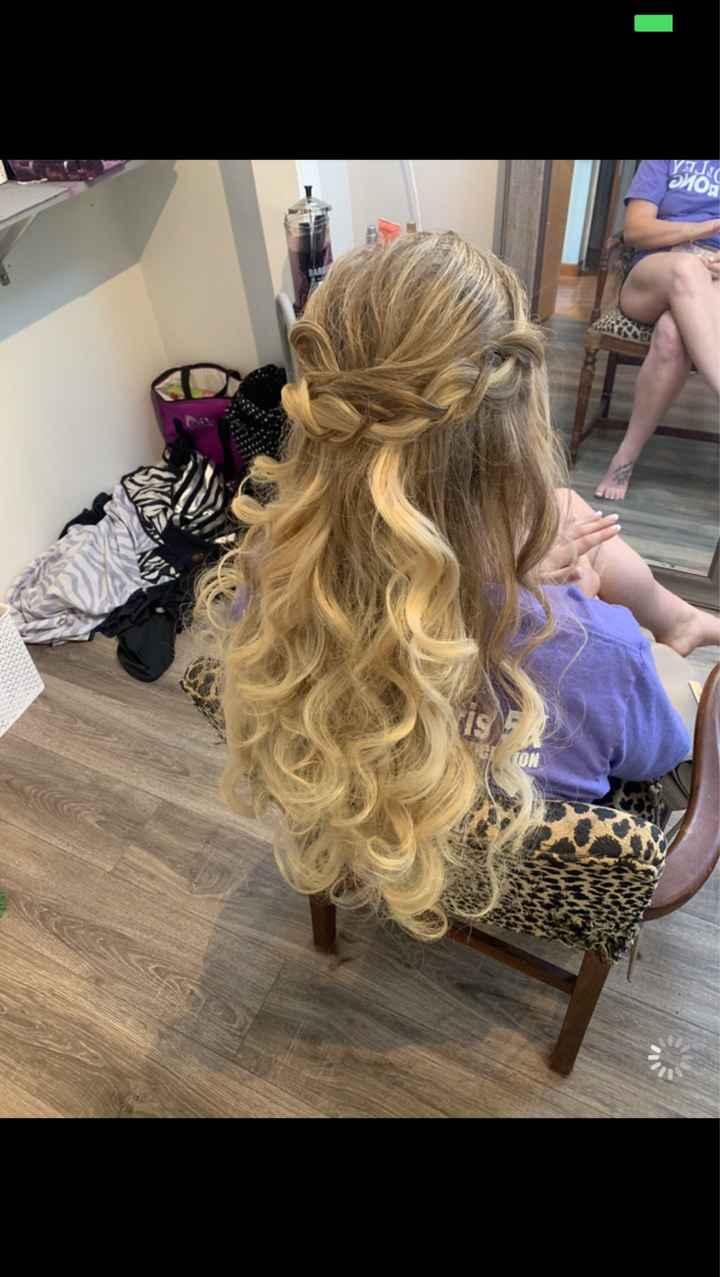 Hair/ Makeup trial photos - 1