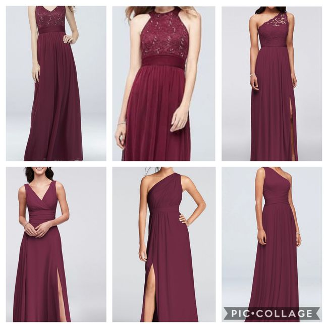 What will your ladies wear? 6
