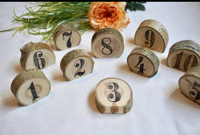 Table numbers ? Show me yours! 5