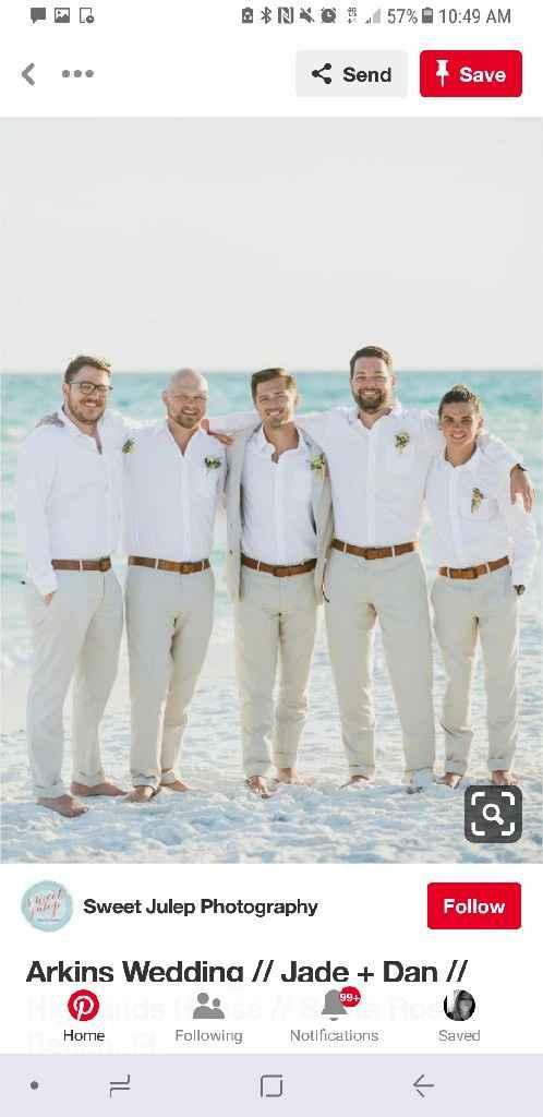 Dressing the men - 4