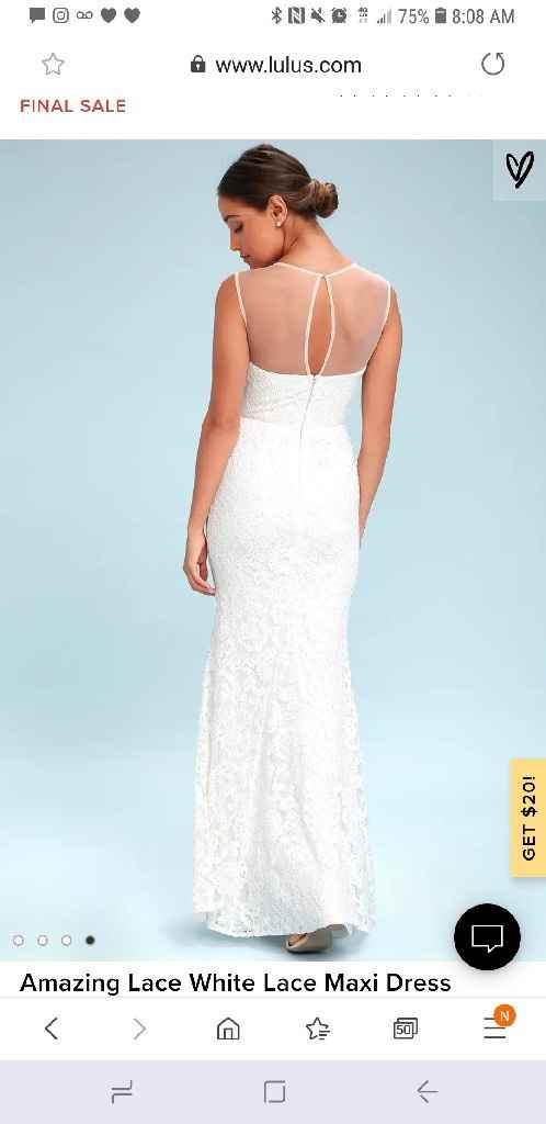Got my dress!! Veil or no veil? - 2