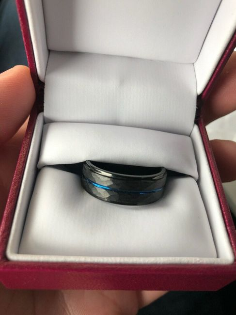 Wedding band for future hubby 6