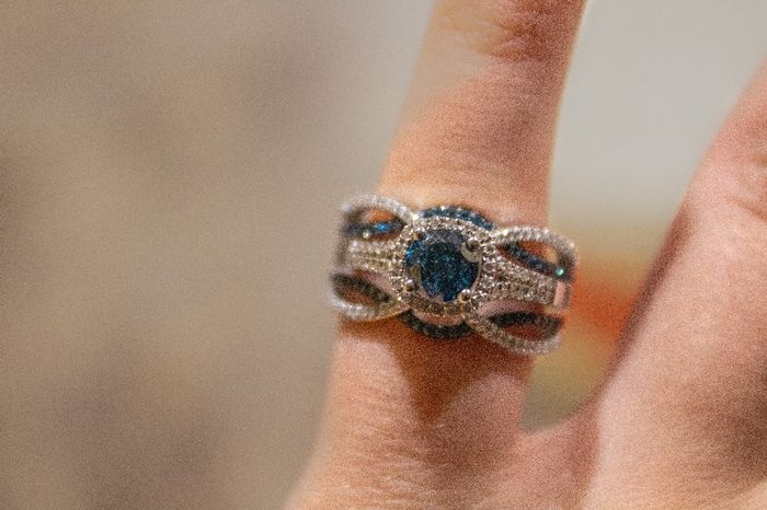 Did you pick your ring or were you completely surprised? 6