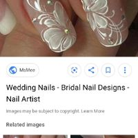 Let me see your wedding nails! - 1