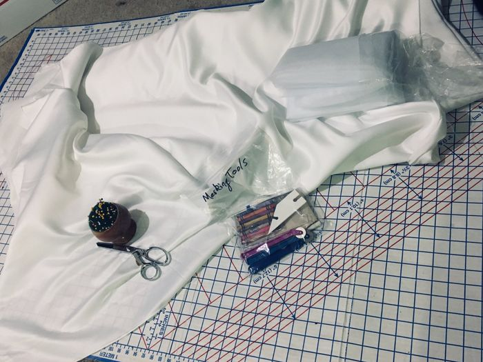 The Journey Begins: Making My Dress! 1