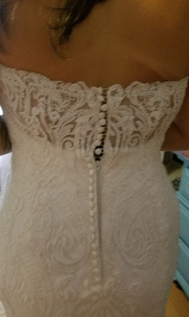 Wedding Dress- Corset or Buttons? Unbiased opinions needed! 1