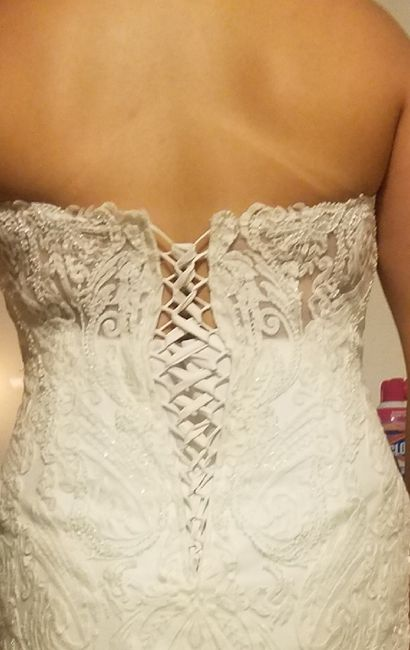 Wedding Dress- Corset or Buttons? Unbiased opinions needed! 2