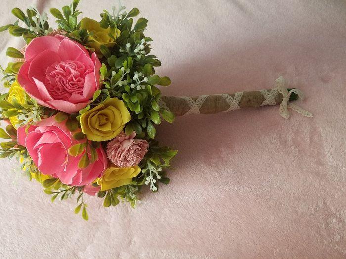 Sola flower bouquet - diy greenery Question 7