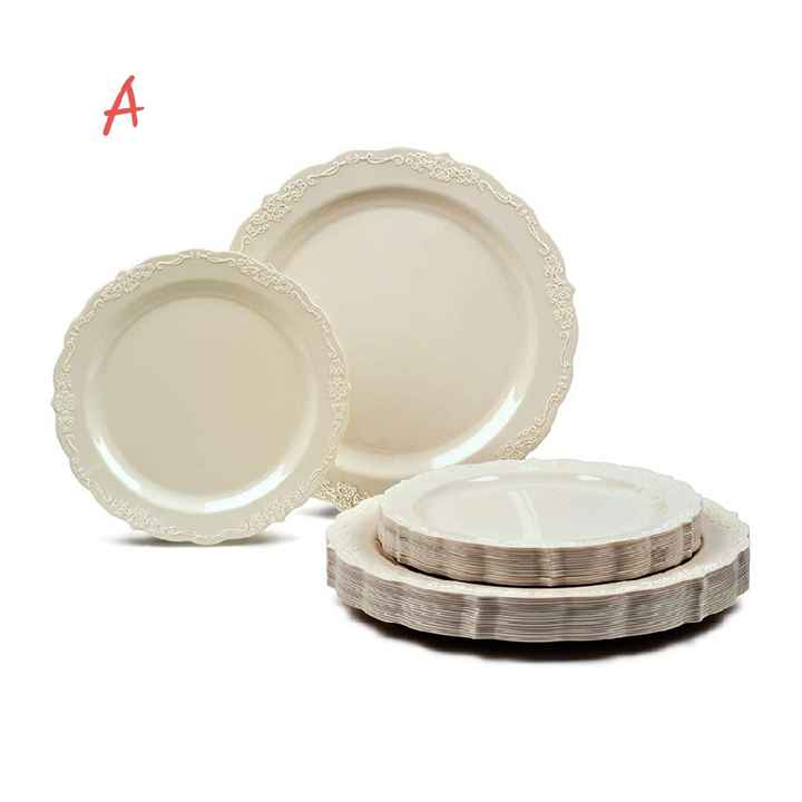 Table setting opinions needed please! Which plates and napkins???? - 3