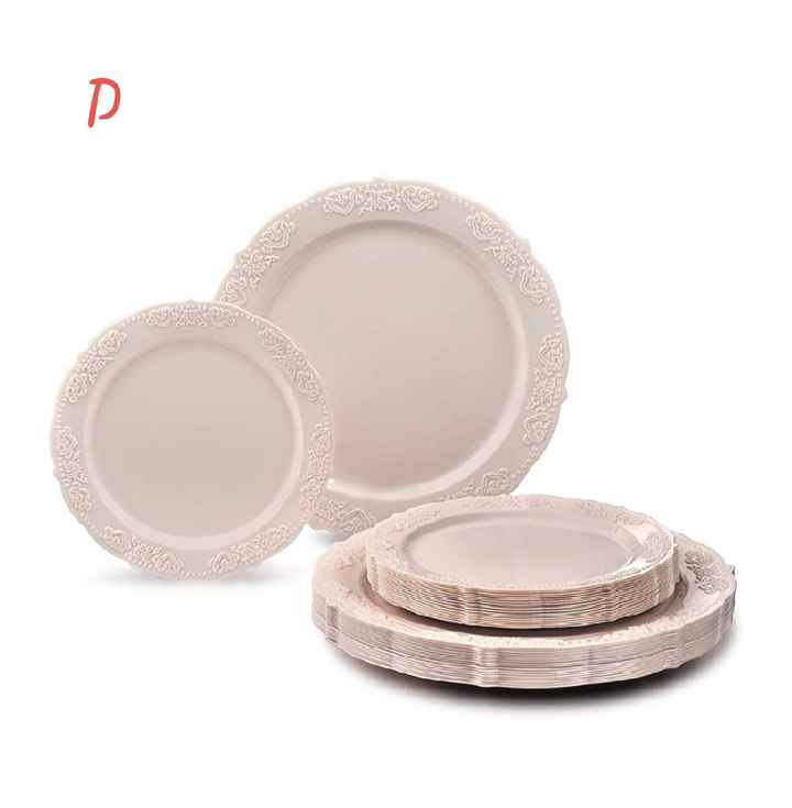 Table setting opinions needed please! Which plates and napkins???? - 6