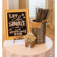 Sparkler (for exit) and Program Fan containers - 2