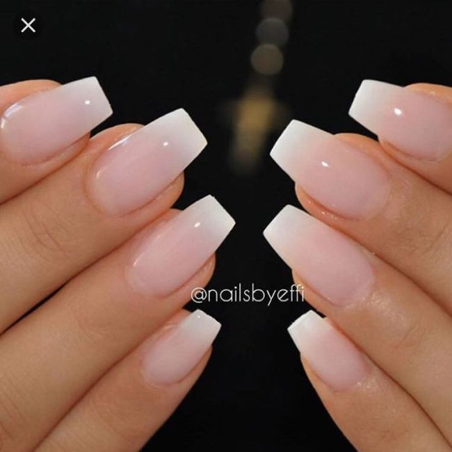 Wedding day nails 2