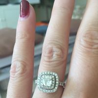 Let's see those rings! And for the Mrs lets see the bands with it ! I LOVE seeing everyone's bling:)