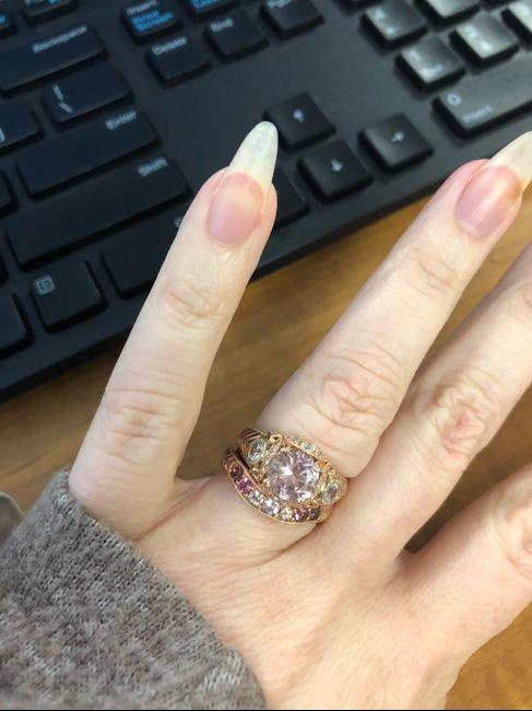 Blue wedding ring 3