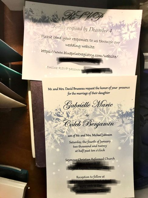 Invitations with online rsvp 1