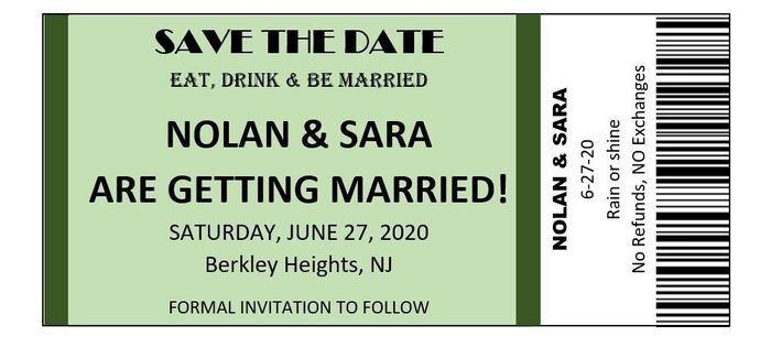 diy Save the Date 1