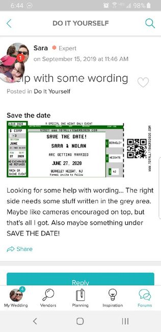 Show me your Save the Dates! 15