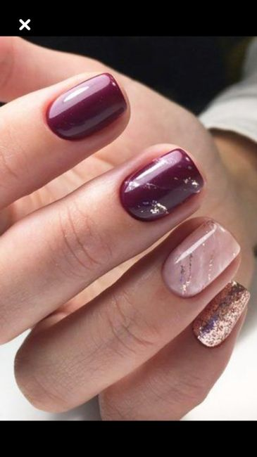 Let me see your wedding nails! 9