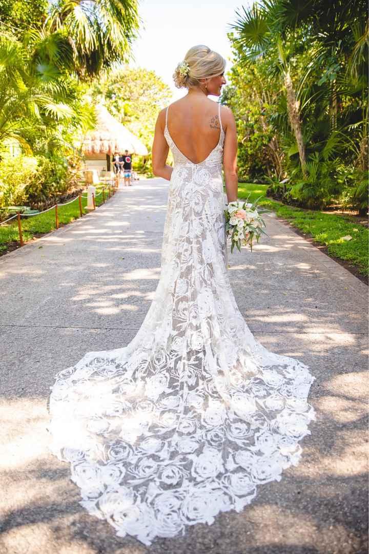 Beach wedding dress - 1