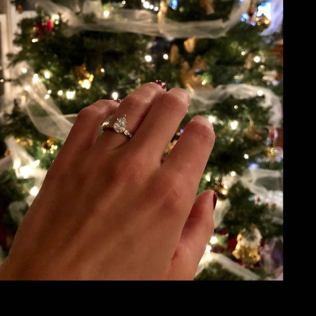 Pear shaped ring - upside down or right side up? | Weddings