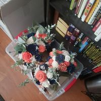 some bouquets