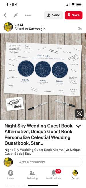Alternative guest book suggestions? 4