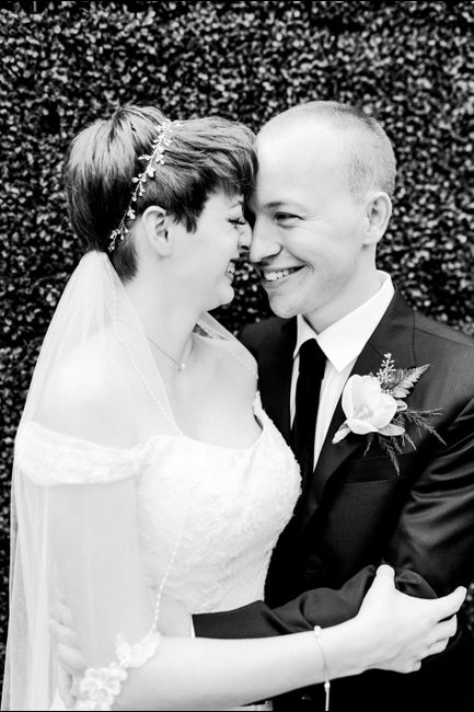 Short hair brides - 1