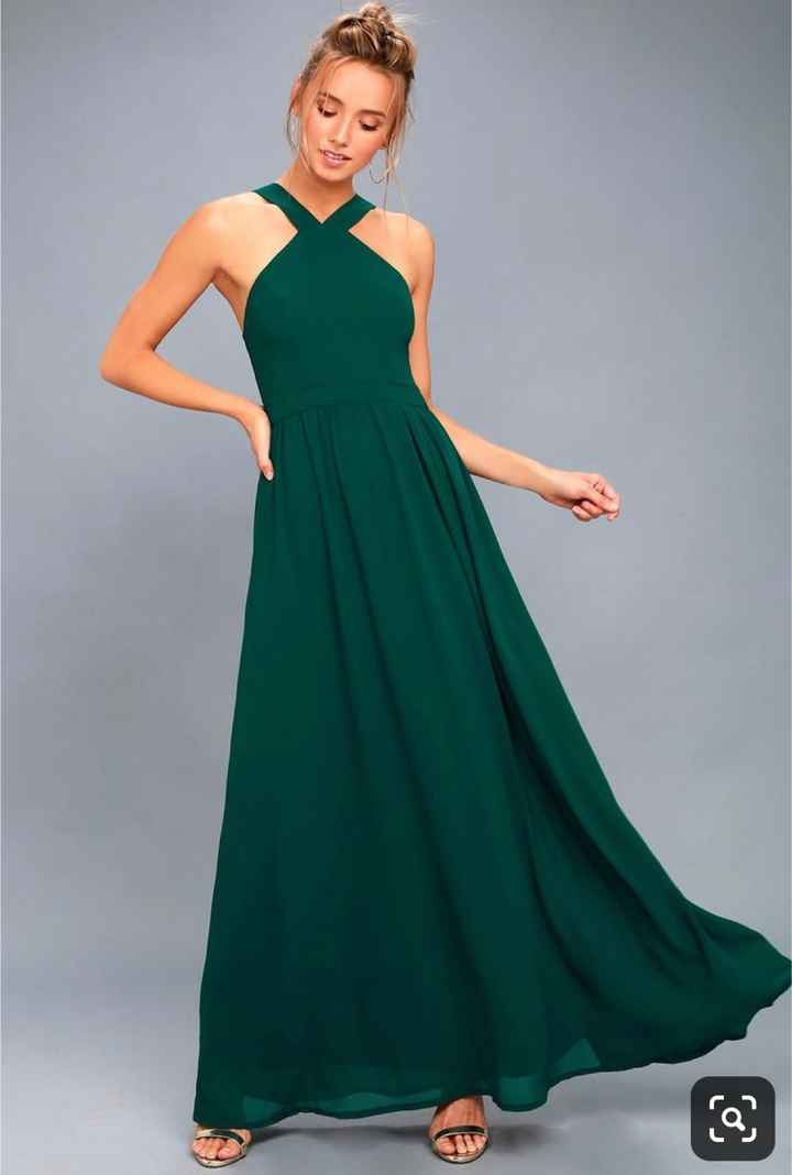 Lulu's Air of Romance in Forest Green - 1
