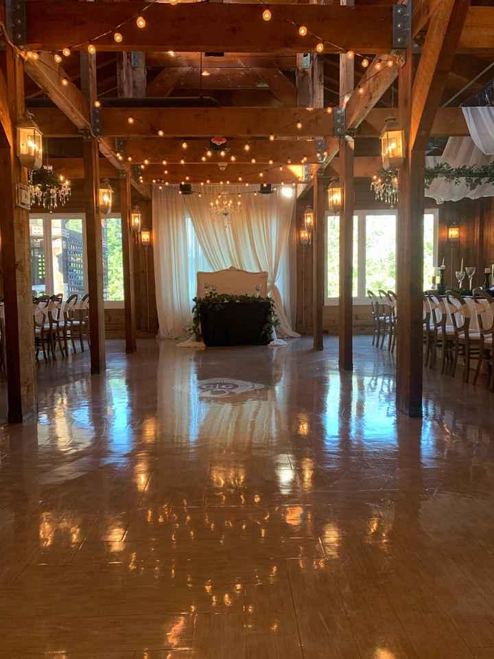Seating Alternatives/no Bridal Party Table - 1